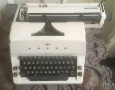 Collectable, 1970s Adler Special Typewriter With Original Cover. Needs Service