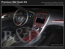 Dash Trim Kit for LINCOLN MKZ 2017 carbon fiber wood aluminum
