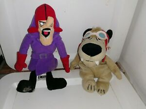 Wacky Races dastardly and muttley Plush Beanie Toys Warner Brothers