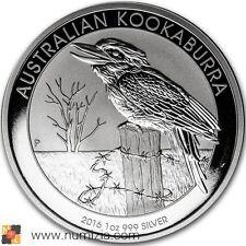AUSTRALIA 1 Dollar 2016 Kookaburra 1 Onza (S/C)