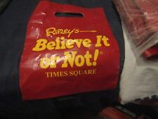 RIPLEY'S BELIEVE IT OR NOT! TIMES SQUARE PLASTIC BAGS ABOUT 100 BAGS