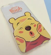 iPhone 6 6s Mobile Phone Soft Gel Silicon Case Winnie The Pooh Disney Xmas Cute