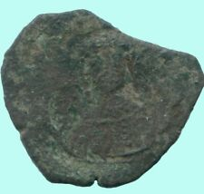 Authentic Byzantine Empire Æ Coin 2.3 g/18.23 mm Anc13606.16