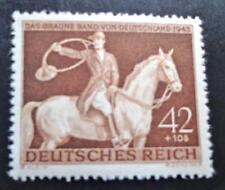 Germany Nazi Ww2 1943 Das Braune Band Horse Riding Mnh