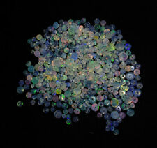 100 PCS 3-4 MM DRILLED ETHIOPIAN FIRE OPAL LOOSE BEADS Wholesale Gemstone YZ86