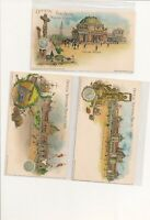 1901 Pan-American  Exposition Postcard (Set of 10)