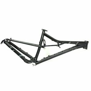 Cannondale 2014 Rush Alloy 29 Frame Only Large BBQ Matte Black NOS