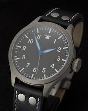 2014 TICINO TITANIUM B-URH Pilot Watch with Miyota 9015 Movement