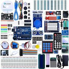 Arduino Starter Kit w/ Tutorial UNO R3 Project Electronics Programming LCD1602