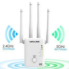 AC1200 Dual Band WIFI Repeater&Router,2.4G& 5G Wireless-N Range Extender