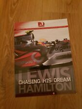 F1 RACING MAGAZINE  special  LEWIS HAMILTON: CHASING his DREAM  Formula 1