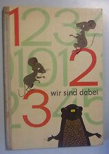 123 ich bin dabei, Zahlenbilderbuch DDR-Kinderbuchverlag Berlin