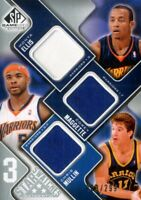 2009-10 SP Game Used 3 Star Swatches Card #3SMME Maggette/Ellis/Mullin/299