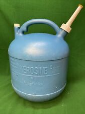 "Vintage ""Eagle"" 5 Gallon Old Type Kerosene Can Pre Ban Rear Vent Model Kp 5"