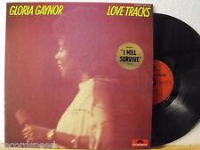 ★★ LP - GLORIA GAYNOR - Love Tracks - GER Polydor 1978 // 2391 385