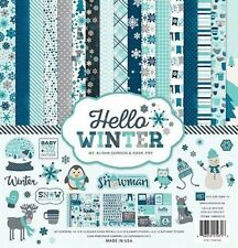 "ECHO PARK ""HELLO WINTER"" 12X12 PAPER COLLECTION SNOW  SCRAPJACK'S PLACE"