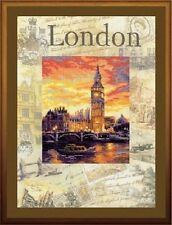 "Counted Cross Stitch Kit RIOLIS - ""Cities of the World. London"""