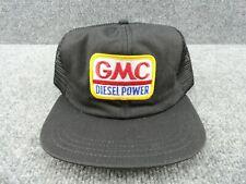 Vintage Gmc Diesel Power Patch Snapback Trucker Mesh Hat