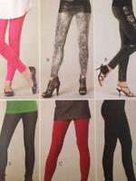 McCalls Sewing Pattern 6173 Misses Ladies Leggings Pants Size XS-MD Uncut