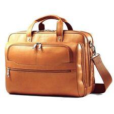 Samsonite Colombian Leather Business Case Bag Briefcase Laptop Computer Handbag