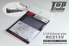 Top Studio 1/12 RC213V Exhaust Pipe for Tamiya kit