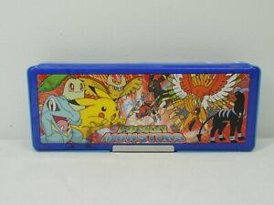 Vintage Pokemon Japanese Pencil Case Pocket Monsters
