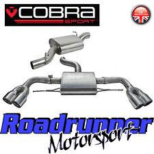 "COBRA Sport AUDI TTS MK2 TT Coupe CAT RETRO SISTEMA DI SCARICO INOX lunghezza 3"""