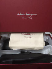 Salvatore Ferragamo Rigel Mens Black Loafers Shoes 13 D US Made in Italy NIB NWT