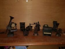 Die-Cast Pencil Sharpeners - Lot of 12 - Musical Instruments