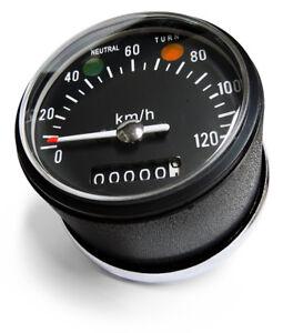 For Honda SL100 XL100 CB100 CL100 S110 CS110 Black Dial Replacement Speedometer