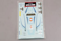 "Hobby Design 1/24 MP4-12C GT3 ""Gulf"" #21 Macau GT 2011 Decals for Fujimi kit"