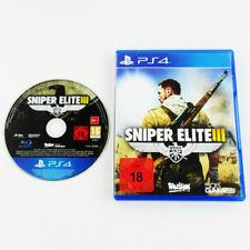 PS4 - Playstation 4 Spiel Sniper Elite III / 3 - Afrika (Usk 18) in Ovp