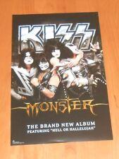 Kiss Monster Promo 2013 Original Poster 11x17