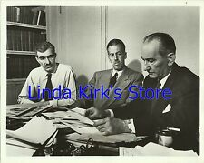 "Kenneth Crawford, Ernest K Lindley & Chet Shaw Photo ""1952 Pres Conv"" ABC-TV '52"