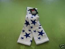 Star Sock Sz 9-11 White/Royal