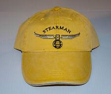 STEARMAN Cap  Yellow FREE SHIPPING