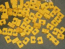 LEGO Technic 15 x Yellow Brick - 1 x 2 pin a lungo con 1 x foro asse