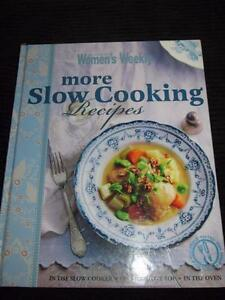 AUSTRALIAN WOMENS WEEKLY COOKBOOK  RECIPES CHEF MORE SLOW COOKING  FAVOURITES