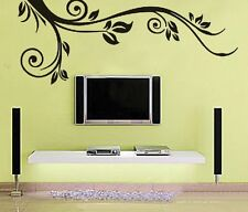 Black Scroll  Wall Decor Large Huge Home Decoration Contemporary  JM7036