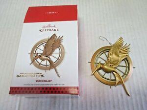 Hunger Games Catching Fire Mockingjay Keepsake Ornament (MWB) Hallmark (2013)