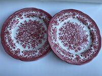 Vintage Royal Staffordshire Bread Dessert Plates Avondale Ironstone  J&G Meakin