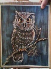 OWL....NO. 786 Kathryn H. Bachman (American 1924- ) LITHO in USA
