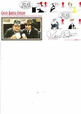 RONNIE BARKER - PORRIDGE - SLADE POSTMARK FDC HAND SIGNED BY HIM