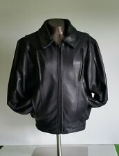 Leather Gallery Ladies LG Motorcycle Riding Black Zip Front Jacket. Nearly New!!