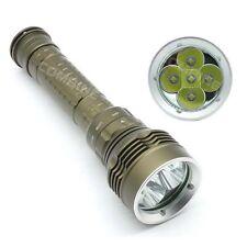 SKYRAY Diving Scuba 8000LM 5x CREE XM-L2 LED 100m Flashlight Torch 18650/26650