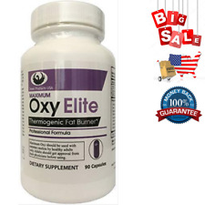 Swan Maximum OxyElite Thermogenic Fat Burner Pro Formula 90 Capsules