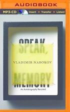 Speak, Memory : An Autobiography Revisited by Vladimir Nabokov (2015, MP3 CD,...