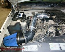 BCP BLUE 04-05 Silverado LLY 6.6L V8 Diesel Heat Shield Cold Air Intake Kit