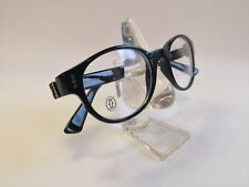 9ad20cd6b1e Cartier Premiere Luxury Black Eyeglasses 49-20 Hand Made in France Very Rare