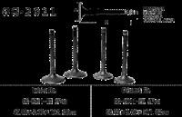 KR VENTIL EINLASS Einlassventil YAMAHA XV 1000 TR1 81-84... Intake Valve
